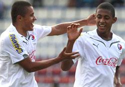 Rojas y Lozano la dupla goleadora