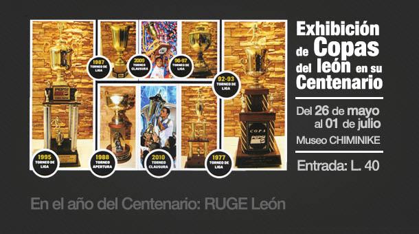 Exhibición de Copas del León