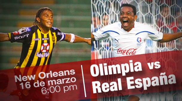 Olimpia vs Real España en New Orleans