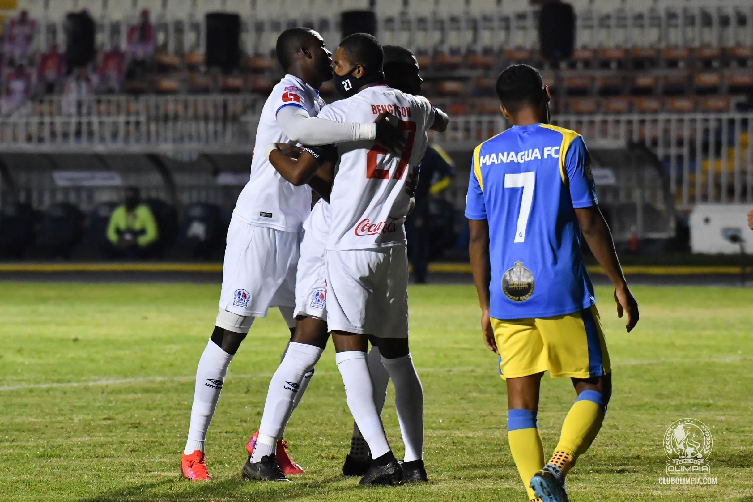 Olimpia 6-0 Managua FC [Liga CONCACAF 2020]