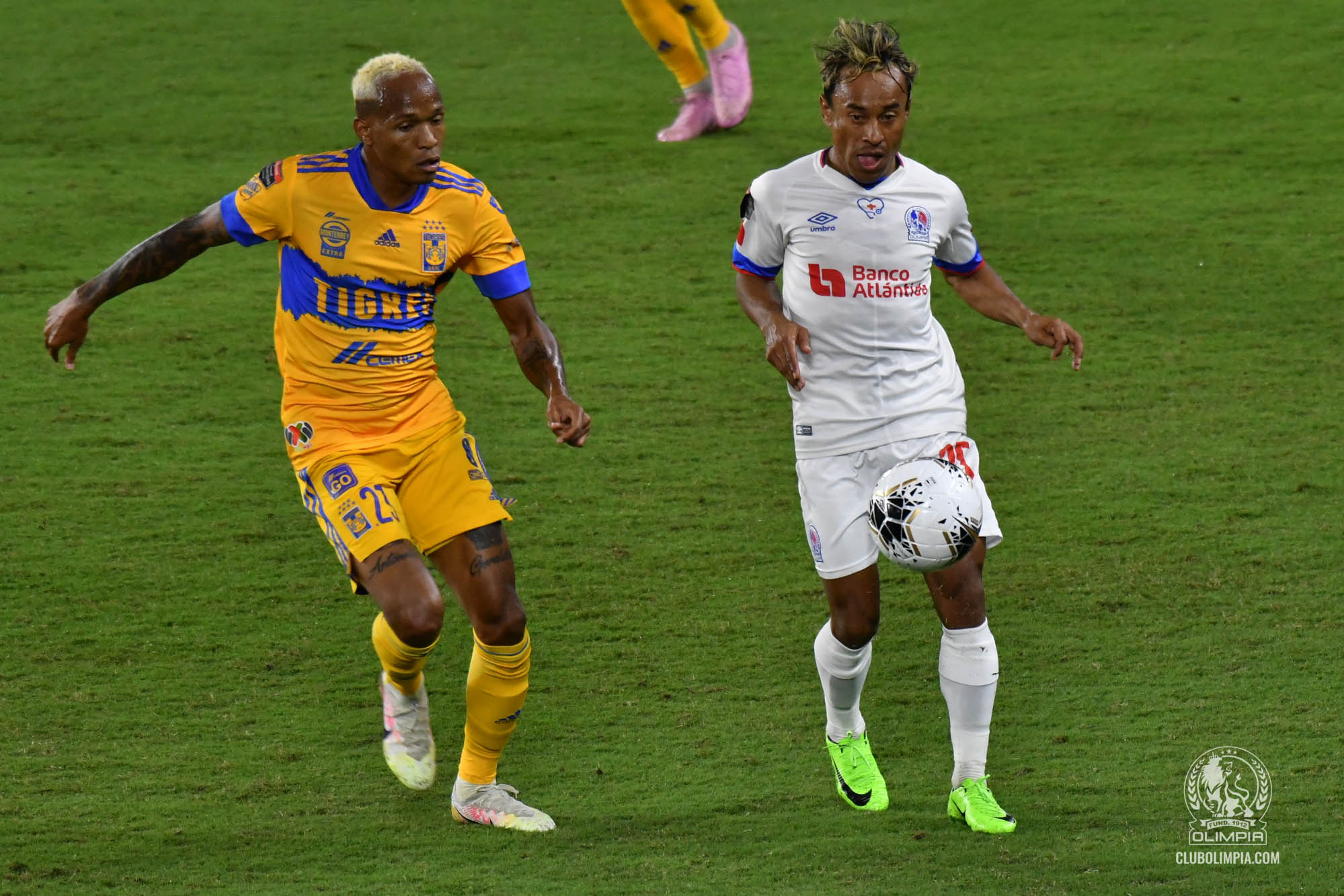 Tigres 3-0 Olimpia [CONCACAF Champions League]