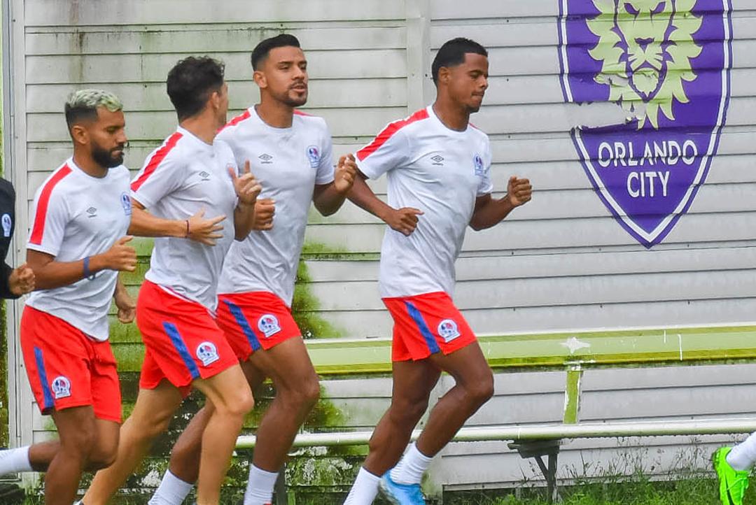 Entrenamiento 14.12.2020 [CONCACAF Champions League]