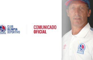 Comunicado oficial - Extensión de contrato Pedro Troglio