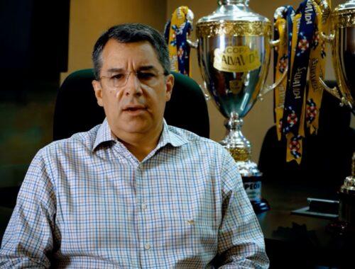"""Rafael Villeda: """"Muy contentos después de obtener tres campeonatos seguidos"""""""