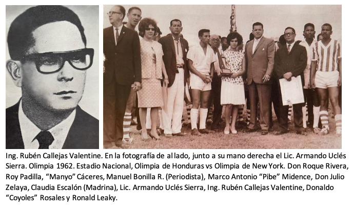 Ing. Rubén Callejas Valentine: el resurgimiento